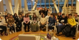 Foto de grupo co alumnado que participou da sesión con Marta. Fai clic na imaxe para ver máis fotografías