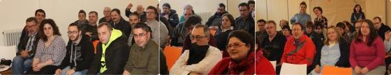 Fai click para ver máis imaxes da sesión en APEM (Chopos) e da visita que parte dos usuarios fixeron á Biblioteca Ágora