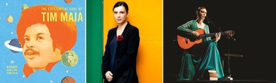 Adriana Calcanhotto canta de Tim Maia a Claudinho e Buchecha. Podes atopala nas Bibliotecas Municipais da Coruña