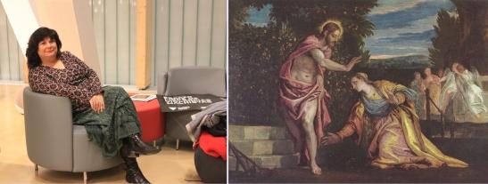 A curación da hemorroísa, de Paolo Veronese, Museo de Grenoble, S. XVI